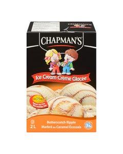 Chapman's Ice Cream Butterscotch Ripple 2L