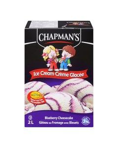 Chapman's Ice Cream Blueberry Cheesecake 2L