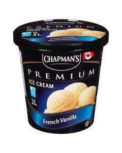 Chapman's Premium Ice Cream French Vanilla 2L