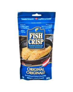 Fish Crisp Seasoned Coating Mix Original 340g