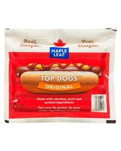 Maple Leaf Top Dogs Wieners Original 375g