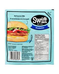 Swift Beef Steakettes 252G