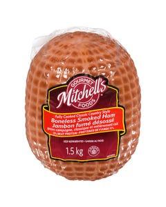 Mitchell's Gourmet Foods Boneless Smoked Ham 1.5KG
