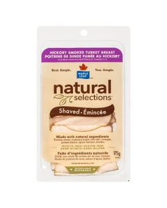 Maple Leaf Natural Selections Shaved Hickory Smoked Turkey Breast 175G