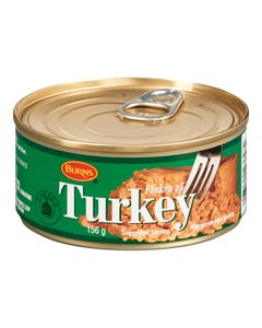 Burns Flakes of Turkey 156g