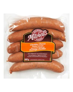 Mitchells Gourmet Foods Cheddar Smokie 500g