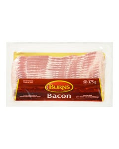 Burns Sliced Bacon 375G
