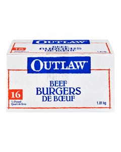 Outlaw Burgers 16CT 1.81KG
