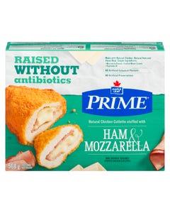 Maple Leaf Prime Chicken Cutlettes Ham & Mozzarela  568G