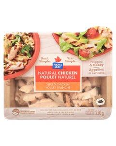 Maple Leaf Natural Sliced Chicken 250G