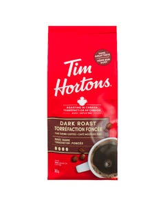 Tim Hortons Dark Roast Fine Grind Coffee 300G