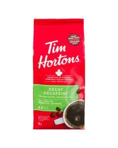 Tim Hortons Decaf Medium Roast Fine Grind Coffee 300G