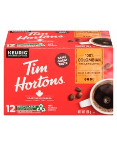 Tim Hortons Colombian K-Cup Pods 12CT 126G
