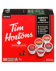 Tim Hortons Variety Pack K-Cup Pods 30CT 315G