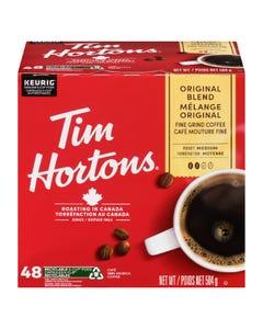 Tim Hortons Original Blend K-Cup Pods 48CT