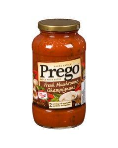 Prego Pasta Sauce Fresh Mushrooms 645ML