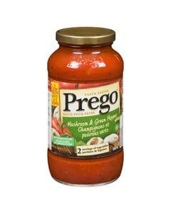 Prego Pasta Sauce Mushroom & Green Pepper 645ML