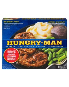 Hungry-Man Dîner Bifteck Salisbury 455G