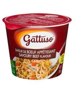 Gattuso Savoury Beef Noodles 55G
