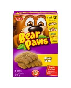 Dare Bear Paws Banana Bread 240g