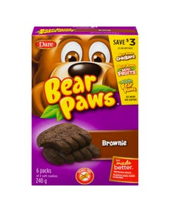 Dare Pattes d'Ours Brownie 240G