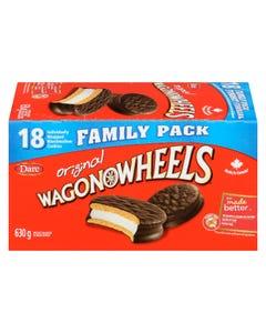 Wagon Wheels Original 18CT 630G