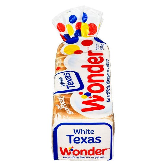 Wonder Bread White Texas Toast 570G