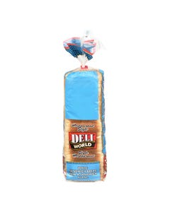 Deli World White Sandwich Bread 900G