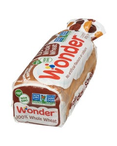 Wonder Bread 100% Whole Wheat 675g