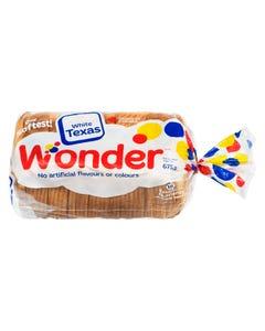 Wonder White Texas Bread 675G