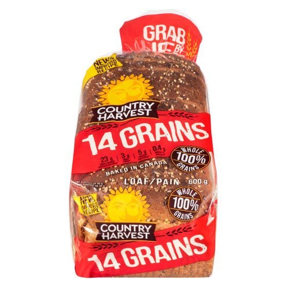 Country Harvest Pain 14 Grains 600G
