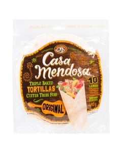 Casa Mendosa Tortillas Original 10in 640G