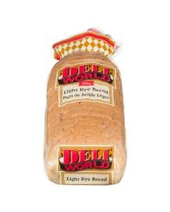 Deli World Light Rye Bread 500G