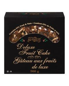 Weston Deluxe Fruit Cake 900G