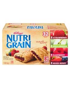 Kelloggs Nutri Grain Bar Variety Pack 1.18kg