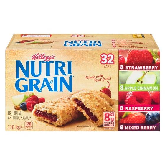 Kellogg's Nutri Grain Barres Saveur Variées 1.18KG