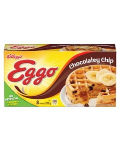 Kellogg's Eggo Waffles Chocolatey Chip 8CT 280G