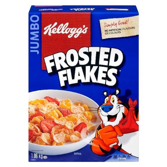 Kelloggs Frosted Flakes Cereal 1060g