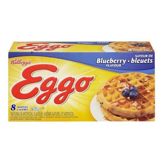 Eggo Blueberry Waffles 280G