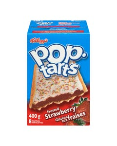 Kelloggs Pop Tarts Frosted Strawberry 400g