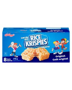 Kelloggs Rice Krispies Squares 8ct 176g