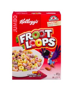 Kelloggs Froot Loops Cereal 825g