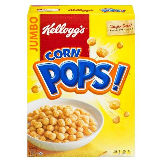 Kelloggs Geant Corn Pops 730G