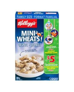 Kelloggs Mini Wheats Cereal 700g