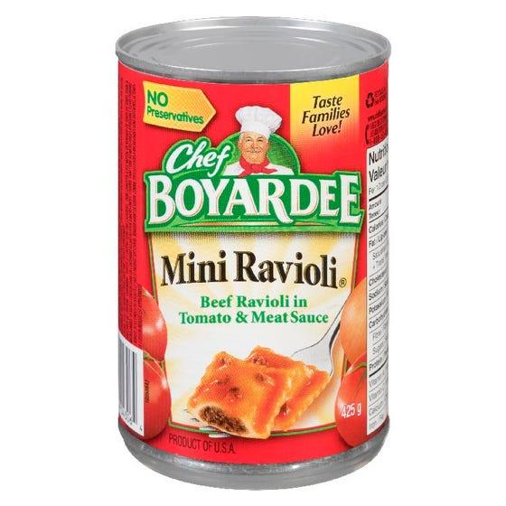 Chef Boyardee Mini Ravioli 425G