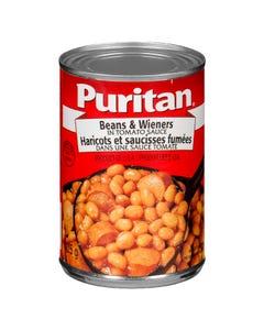 Puritan Beans & Wieners in Tomato Sauce 425g