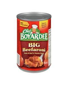 Chef Boyardee Big Beefaroni 418G
