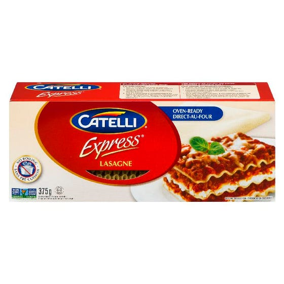 Catelli Lasagne Direct O Four 375G