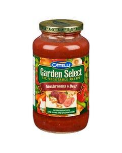 Catelli Garden Select Mushrooms & Beef Pasta Sauce 640ML