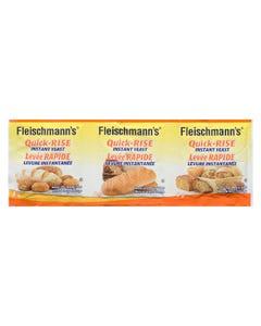Fleischmann's Quick-Rise Instant Yeast 3X8G